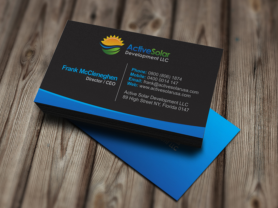 Office 2010 Business Card Template