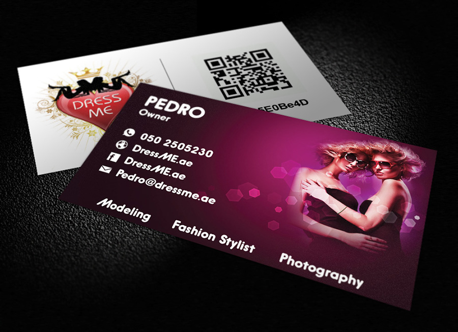 dress me business card | LogoNeed