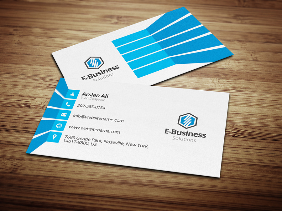E business Business Card