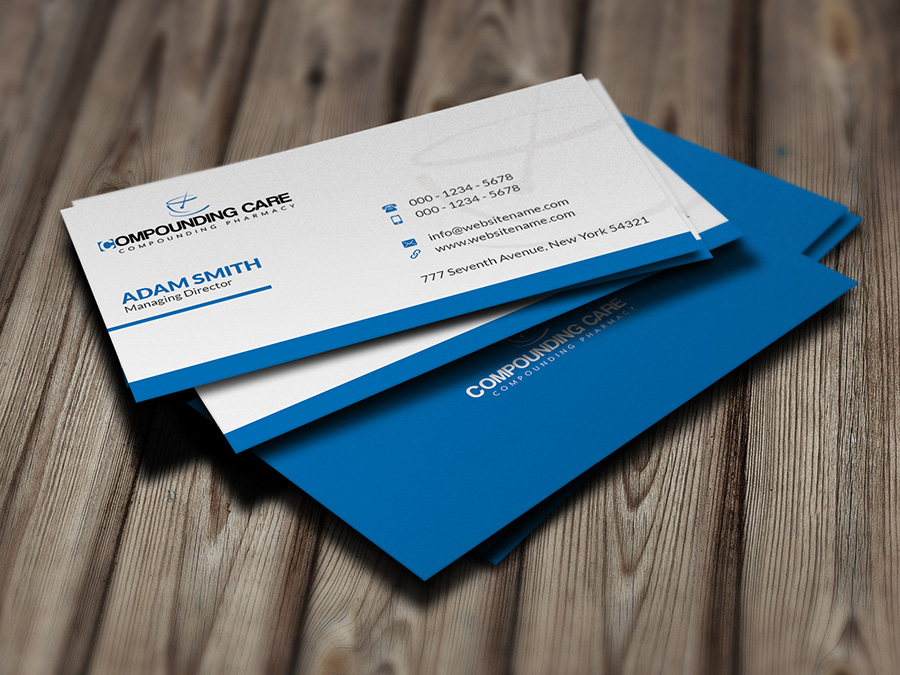Pharmacy business card logoneed for Pharmacist business card