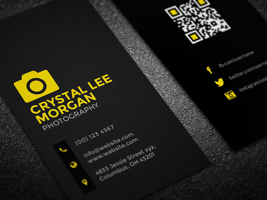Photography business card logoneed photography business card colourmoves